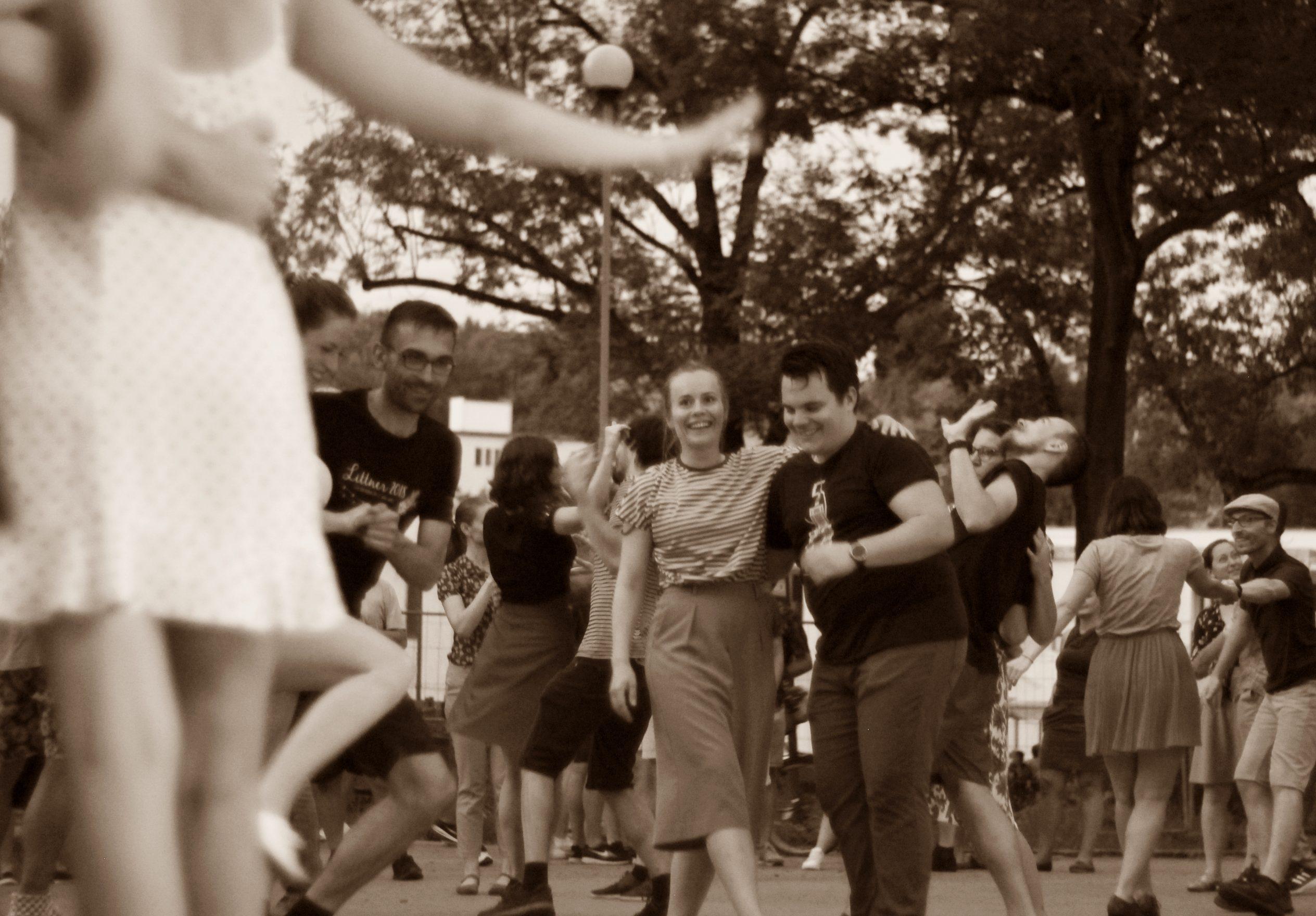 Swingová tančírna s Vincenc Kummer and Friends