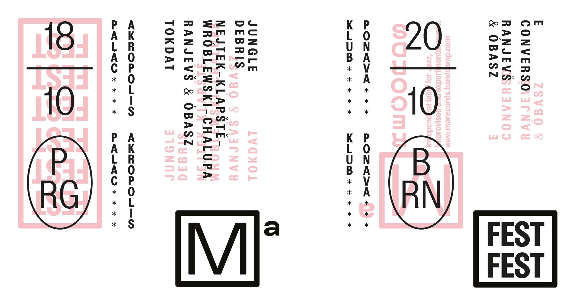 MaFest: Ranjevš & Óbazs + E Converso